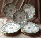 Antique Minton Set Of 11 Plates 8 In With Asian Pattern And Wonderful Colors