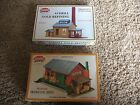 Two Model Power HO Scale Building Kits Branch Line Depot Averill Gold Refining