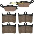 Front & Rear Brake Pads for Yamaha R1 YZF-R1 1000 2004 2005 2006