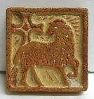 Vintage Tile - Lamb with Cross