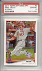 MIKE TROUT ANGELS 2014 TOPPS OPENING DAY CARD SLIDING PSA 10 GEM MINT