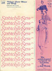 Stretch & Sew Uncut Pattern by Ann Person # 235 Dolman Sleeve Blouse and Dress