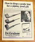 1968 Grabow Pre-Smoked Pipes Ad How to Drop a Gentle Hint for Piping Good Gift