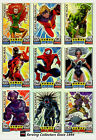 2011 Topps Marvel Universe Hero Attax Collectors Card Rainbow Foil Full Set (16)