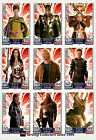 2011 Topps Marvel Universe Hero Attax THOR Movie Card Full Set (16)