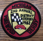 Michigan Pinewood Derby 2Nd Annual 1982 Royal Ranger Uniform Patch