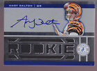 2011 Totally Certified Jumbo Jersey Autograph Auto #203 Andy Dalton RC 344 399