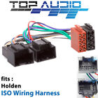 Holden Captiva 7 CG 1 & 2 Iso wiring harness adaptor cable loom plug wire