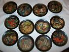 RUSSIAN LEGENDS Bradex complete 12 Plate collection limited edition plates