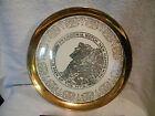 Crest-O-Gold Franconia Notch new hampshire  22K gold Plate 10 inch sabin