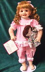 ** DANA ** Barefoot in Pajamas w/DOLLY by 1994 DESIGN DEBUT COLLECTION - NIB
