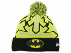 Official DC Comics New Era Batman Glow Zoom Knit Beanie Hat
