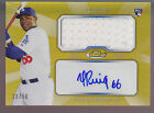2013 Finest Gold Refractor Game Jersey Autograph Auto Yasiel Puig RC 50 Rookie