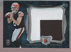 2014 Bowman Sterling Refractor 2 Color Jumbo Jersey Patch Johnny Manziel RC