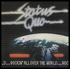STATUS QUO - ROCKIN' ALL OVER THE WORLD D/Rem CD with BONUS Trk ~ 70's *NEW*