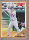 2011 Topps Heritage Minor League Rookie Card #44 Mike Trout RC Rookie Card