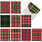 M6016 HIGHLAND HOLIDAY 10 Assorted Blank Note Cards w Matching Envelopes card