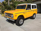 Ford  Bronco Sport 302 v 8 uncut c 4 automatic frame off restoration please see photos