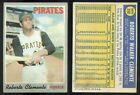 (32839) 1970 Topps 350 Roberto Clemente Pirates-VG
