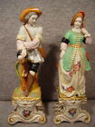 Pair of 19th Century French France Figurines Man and Woman