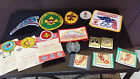 MIXED LOT 15 ITEMS - BOY SCOUT PATCHES VINTAGE Belt Buckles Tie Holder   DENVER