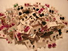 WHOLESALE LOT 50 PAIRS STUD EARRINGS  FREE SHIPPING
