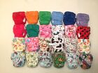 5 Happy Flute AIO Newborn Cloth Diaper with Double Gussets. Like THX/Lil Joey's