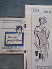 Vtg 50s Mail Order 2-Pc Outfit Pencil Style Skirtpie  Shawl Collar Pattern 16/36