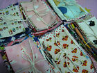 Japanese Fabric scrap pack, linen and cotton blends FREE SHIPPING