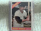 1996 MICKEY MANTLE 1966 TOPPS SWEEPSTAKES CONTEST CARD