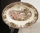 Johnson Brothers FRIENDLY VILLAGE Oval Vegetable Serving Bowl The Village Green