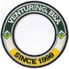 Venturing, BSA Since 1998 World Crest Ring - Private Issue Non BSA