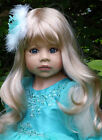 Masterpiece Dolls * Lovely Blonde Jasmine * 39  Doll by Monika Levenig