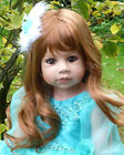 Masterpiece Dolls * Jasmine * Strawberry Blonde * Monika Levenig 39  Doll **