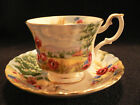 TEA CUP AND SAUCER  ROYAL ALBERT COUNTRY SCENES  HARVEST SONG