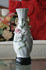 Vintage Lusterware Porcelain Double Handled Hand Painted Vase