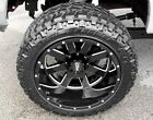 4 New Moto Metal 962 20x12 Gloss Black Wheels Ford Chevy Dodge Jeep
