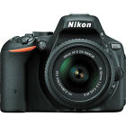 Nikon D5500 DX format Digital SLR w 18 55mm VR II Kit Black Brand NEW