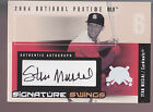 2004 Fleer National Pastime Signature Swings Autograph Auto Stan Musial 037 039