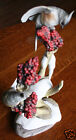 Boehm Tufted Titmice 482 Birds Snow Berries Artistic Signed Figurine USA Limited