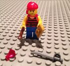 NEW / Lego Pirate Mini- Figure / Ship Crew / W-4 Accessories / Red Shirt / 70412