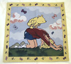 Winnie The Pooh Christopher Robin Tapestry Wall Hanging Blanket 26x26