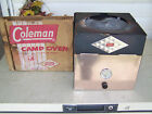 VINTAGE COLEMAN CAMPSTOVE OVEN DIAMOND LOGO LABEL WITH ORIGINAL BOX