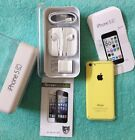 NEW Apple iPhone 5c 8GB Yellow Factory Unlocked Smartphone NIB + FREE GIFT