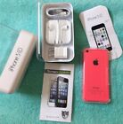 NEW Apple iPhone 5c 8GB Pink Factory Unlocked Smartphone NIB + FREE GIFT