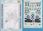 P-51B/D Mustang Aces 1/48 Super Scale Decals #400 Drew Eagleston Glover Emerson