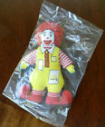 VINTAGE 1984 RONALD MCDONALD 5 INCH PLUSH TOY! MINT IN BAG!