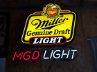 Miller Genuine Draft Light Neon Beer Sign