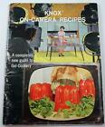Vintage 1960 Knox On-Camera Recipes Book A Complete Guide to Gel Cookery PB