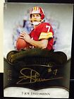 Joe Theismann 2008 Exquisite Collection Legendary Signatures Gold Ink #ed 25